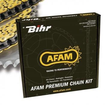 Kit chaine 520 AFAM type MR1 pour KTM 250 MX de 1990, 1991 et 1992