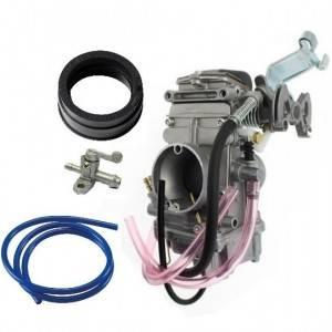 Carburateurs, manchons, durites, robinet et accessoires pour motocross VOR 4 temps