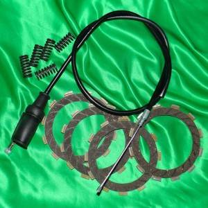 Disque d'embrayage, cable, disque garnis, disque lisse pour motocross KAWASAKI 4 temps