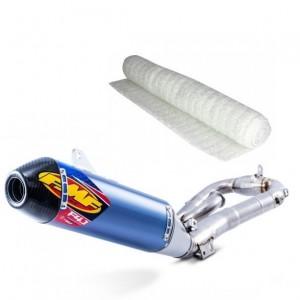 Pot d'échappement, ligne, silencieux et collecteur pour motocross KTM 4 temps