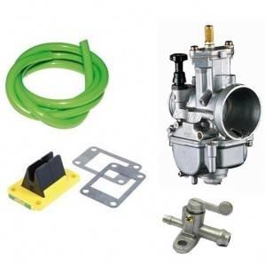 Carburateurs, clapet, manchons, lamelle, durites, robinet et accessoires pour KTM 2 temps
