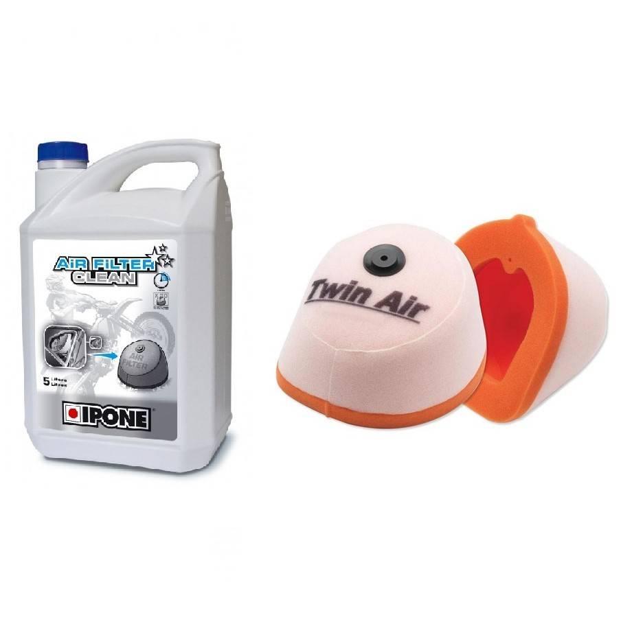 Filtre à air, entretien et nettoyage pour HUSQVARNA 4 temps