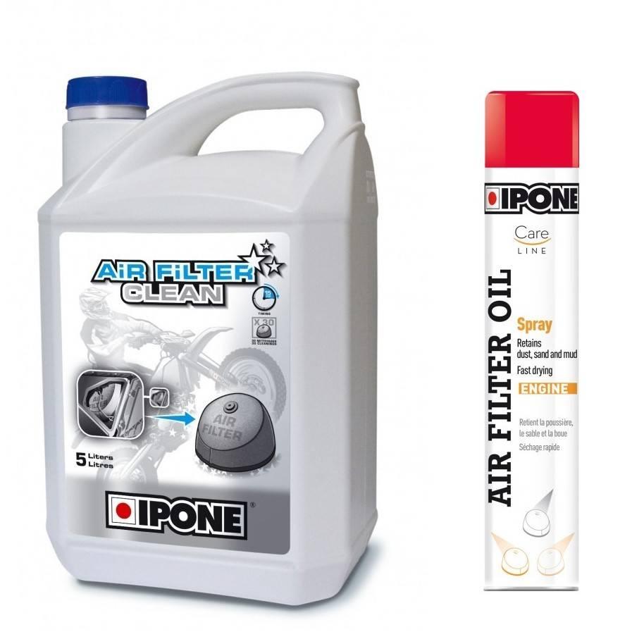 Huile et nettoyant de filtre a air pour GAS GAS 4 temps